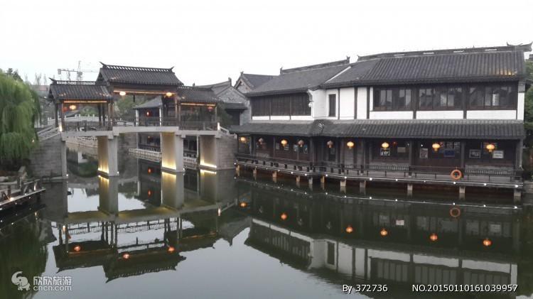 台儿庄古城(赏夜景)、大战纪念馆、微山湖湿地纯玩两日游
