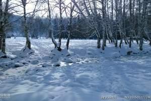 玩乐冬季雪域草原乌兰布统、激情滑雪4日游(纯玩无购物)