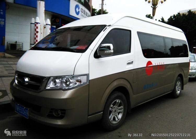 西安旅游租车(19座)