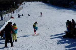 省内周边滑雪一日游怪坡金峰热高东北亚特价55元