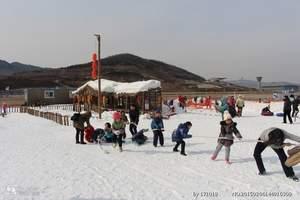 莱芜雪野滑雪场门票预订-济南周边冬季滑雪推荐