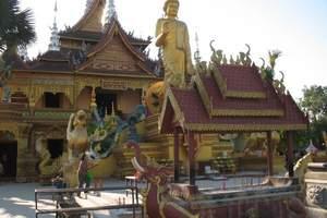 遇尚版纳、普洱森林公园、野象谷、大佛寺4日游赠送澜沧江游轮