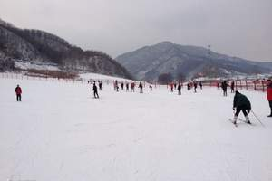 保定到易县,狼牙山滑雪场一日游