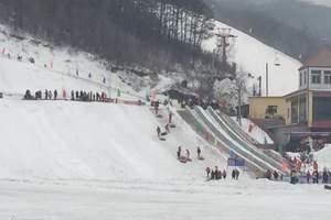 沈阳出发到东风湖冰雪大世界一日游|本溪东风胡滑雪场门票团购|