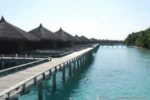 马尔代夫浪漫满月岛5天4晚自由行 海岛自由行