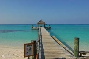 春节去马尔代夫旅游推荐 泰姬珊瑚2沙2水 马尔代夫6天4晚游