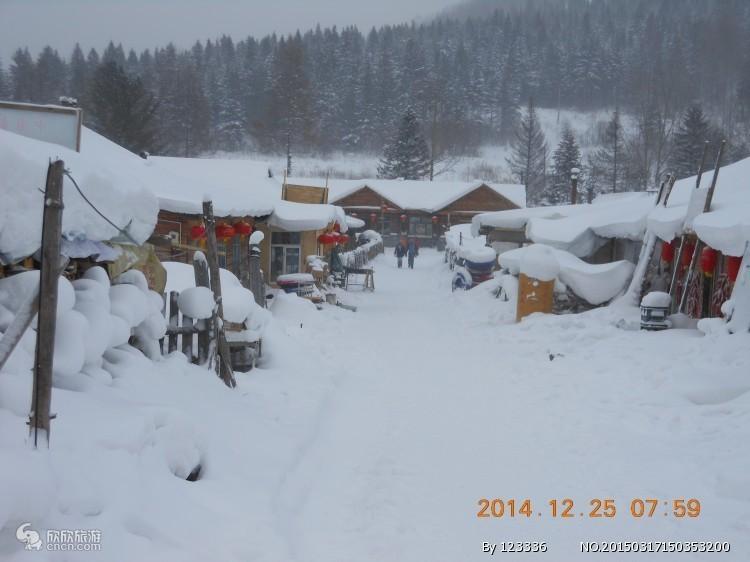 哈尔滨、亚布力、雪乡、镜泊湖冰瀑冬捕、长白山、老里克湖8日