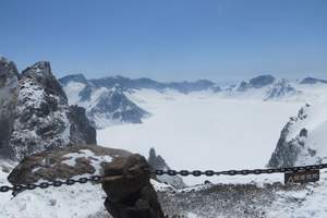 延吉、长白山、魔界、老里克湖徒步穿越、中朝边境纯玩双飞6日游