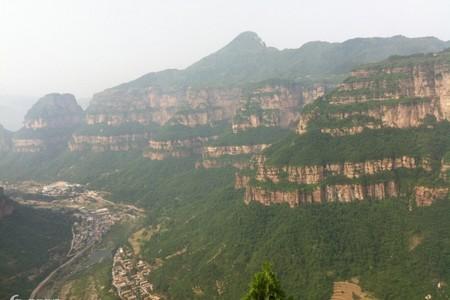 河南郭亮-万仙山-八泉峡-太行山大峡谷3日游-太行山郭亮旅游