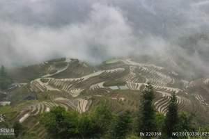 桂林旅游必去景点:桂林龙脊梯田一日游(古壮寨徒步平安寨)