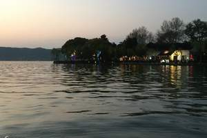 无锡到杭州西湖、西溪湿地、水乡乌镇五星精品二日游