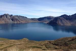 吉林、長白山北坡、鏡泊湖、吊水樓瀑布、朝鮮民俗村 雙臥5日