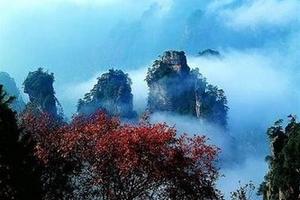 天津到张家界旅游团_天津到张家界旅游线路_天子山单飞六日游
