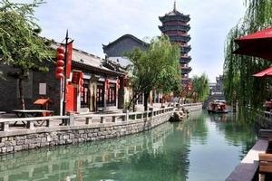 北京出发到滦州古城+开滦国家矿山公园+地震遗址公园二日游