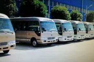 在呼和浩特租一辆中巴旅游巴士需要多少钱