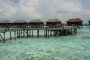 马尔代夫双鱼岛、住沙滩别墅、海边六日游|马尔代夫六日游多少钱
