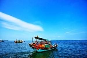 省内游特价阳江海陵岛、渔家乐游船观光、十里银滩、妈祖庙二天游