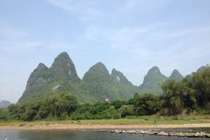 桂林2天1晚纯玩游(漓江+遇龙河+世外桃源+象鼻山+银子岩)