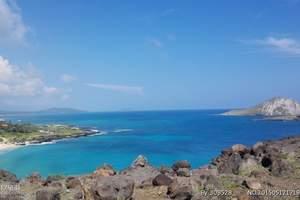 美国·夏威夷欧胡岛+火山岛双岛住宿8日自由行