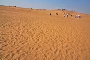 宁夏旅游 沙坡头、高庙、通湖草原汽车二日游
