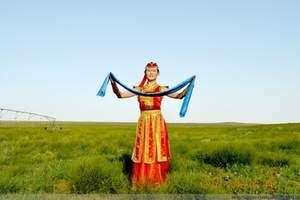 草原旅游呼和浩特到内蒙古锡林郭勒大草原石林蒙元文化城双卧4日