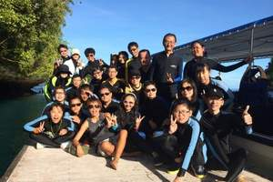 Palau Diving 帕劳无证外海体验水肺潜水