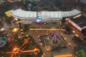 上海出发横店+杭州三天两晚自由行自驾游双人套餐含住宿含门票