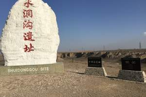 神奇宁夏—水洞沟、西夏陵、大漠驼铃一日游(1人成团)