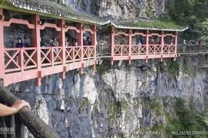 张家界旅游 森林公园、天门山玻璃栈道、凤凰古城4日纯玩游行程