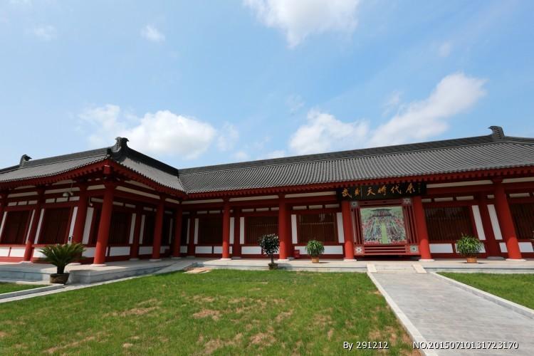 永泰公主墓图片