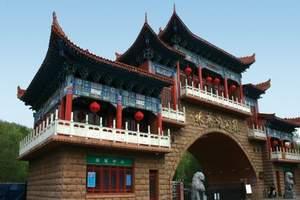 北京到西北专列旅游团、轮胎胡杨林、莫高窟、丹霞地貌十三日游