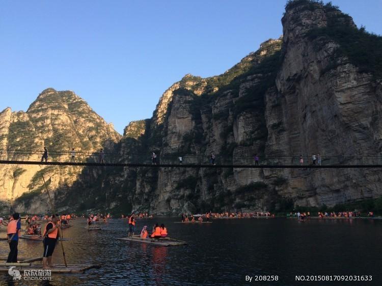 天津到野三坡百里峡旅游团,百里峡,十渡风景区,孤山寨