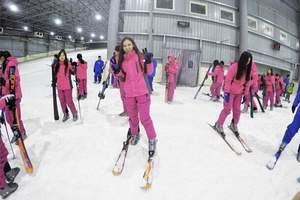 三只熊滑雪场门票多少钱,三只熊滑雪王国一日游