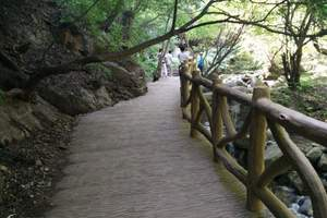 太原出发省内周边旅游 灵石 红崖大峡谷 1日游
