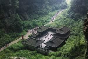 重庆旅游武隆仙女山天生三桥天坑地缝一日游纯玩重庆周边门票