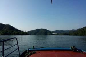 深圳惠州出发 江西赣州上犹陡水湖 森林小火车汽车三日游