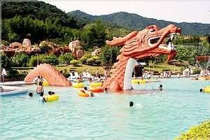公司独立包团度假旅游到龙门铁泉大温泉 香溪古堡会议两天游