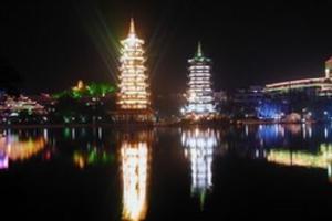 天津到桂林旅游特色线路_桂林_北海银滩_海南海陆空单飞九日游