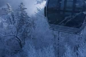 杭州出发吉林/万达国际滑雪度假区/长白山/魔界雾凇五日价格