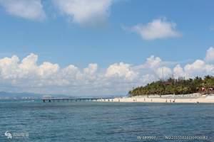 纯净海时光-蜈支洲岛、呀诺哒、槟榔谷、南山、天涯海角双飞6日