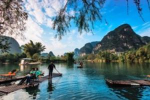 德天瀑布·通灵峡谷·巴马·北海涠洲岛·桂林漓江风光·8天游
