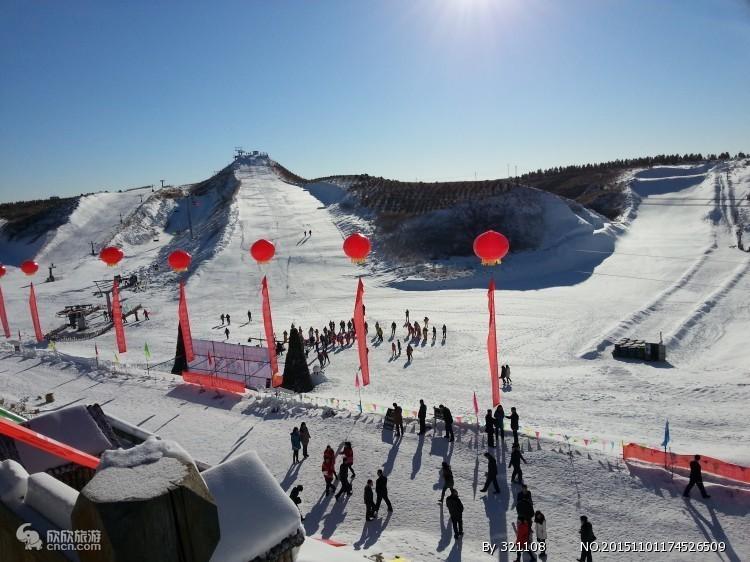 天津蓟县玉龙滑雪场一日游
