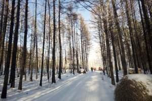 呼伦贝尔下雪啦!深圳到呼伦贝尔5天双飞游,冬天玩雪好处去?