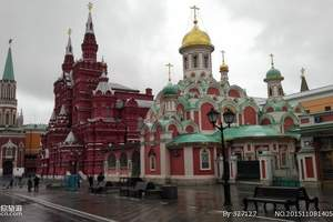 暑期青岛直飞莫斯科—莫圣双城、金银双环、皇家双庄园经典9日