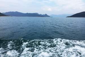 湘潭到郴州东江湖旅游雾漫小东江汽车两日游