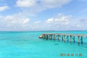 马尔代夫-罗马庄园-4晚6天行程-2沙2水含早晚餐-蜜月旅游