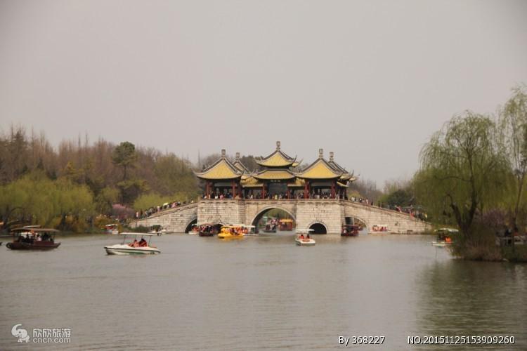 世界文化遗产 5A扬州瘦西湖 二十四桥 东关街年货大集一日