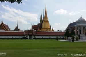 逍遥泰国曼谷芭提雅六日半自助游 武汉到泰国旅游