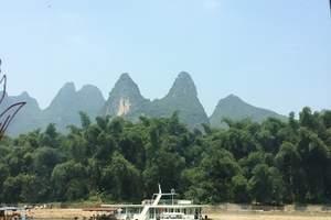 惠州到桂林象山传奇.阳朔兴坪漓江、银子岩.漓江洞穴居动车三天