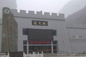 山西省长治市平顺县通天峡景区门票(成人电子票)